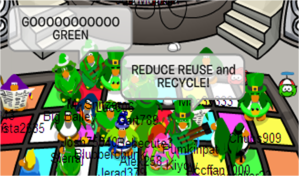 Here that world!? We've all got to Reduce, Reuse, and Recycle!